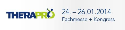 Logo der THERAPRO Fachmesse in Stuttgart