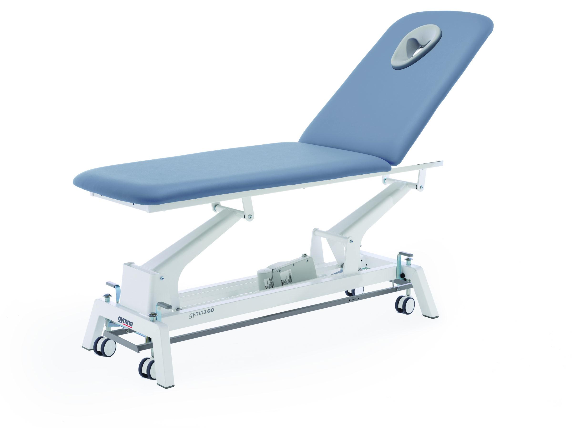 Therapieliege Gymna.GO D1e iControl Titanium