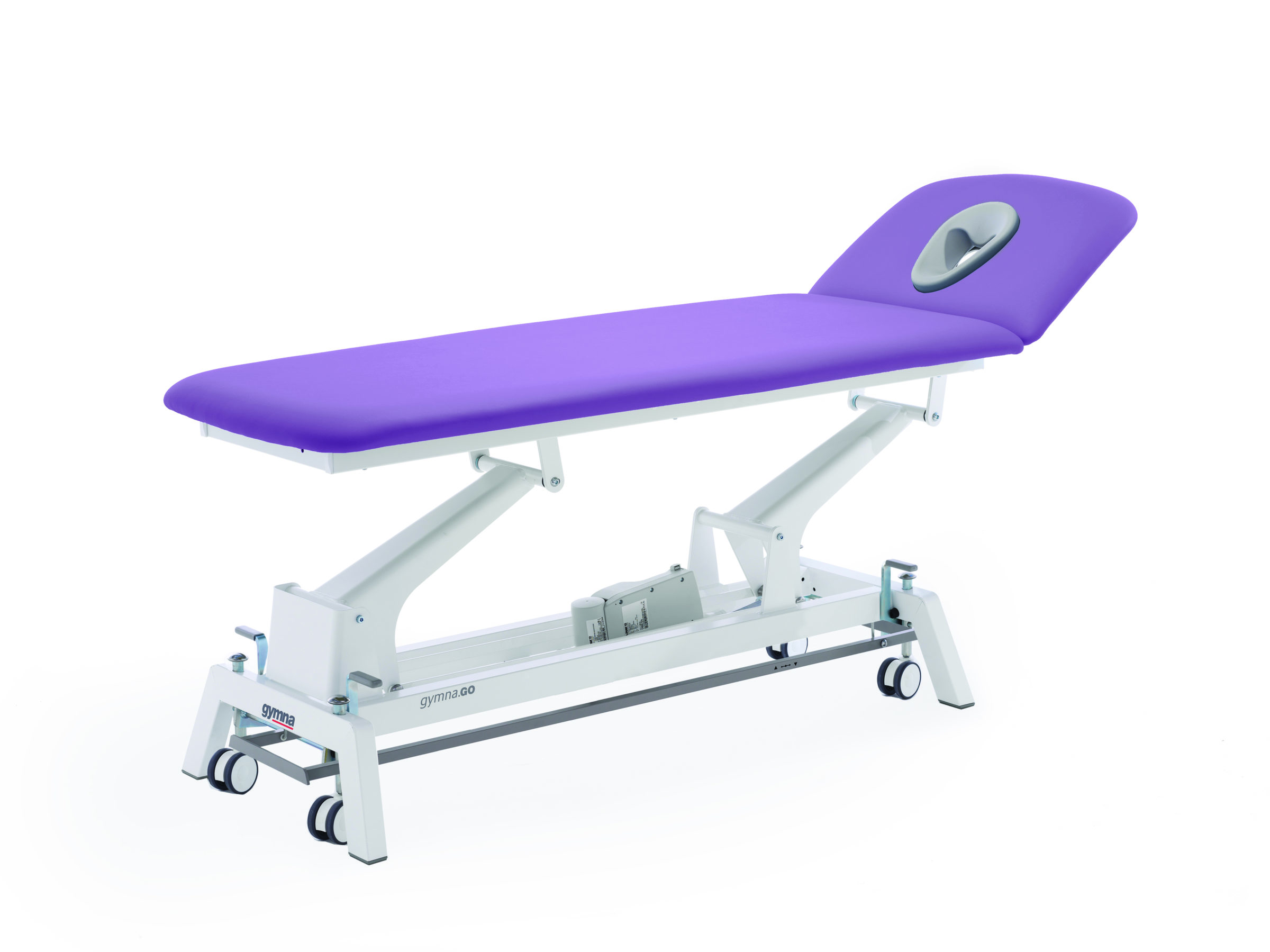 Therapieliege Gymna.GO D2 iControl Violett