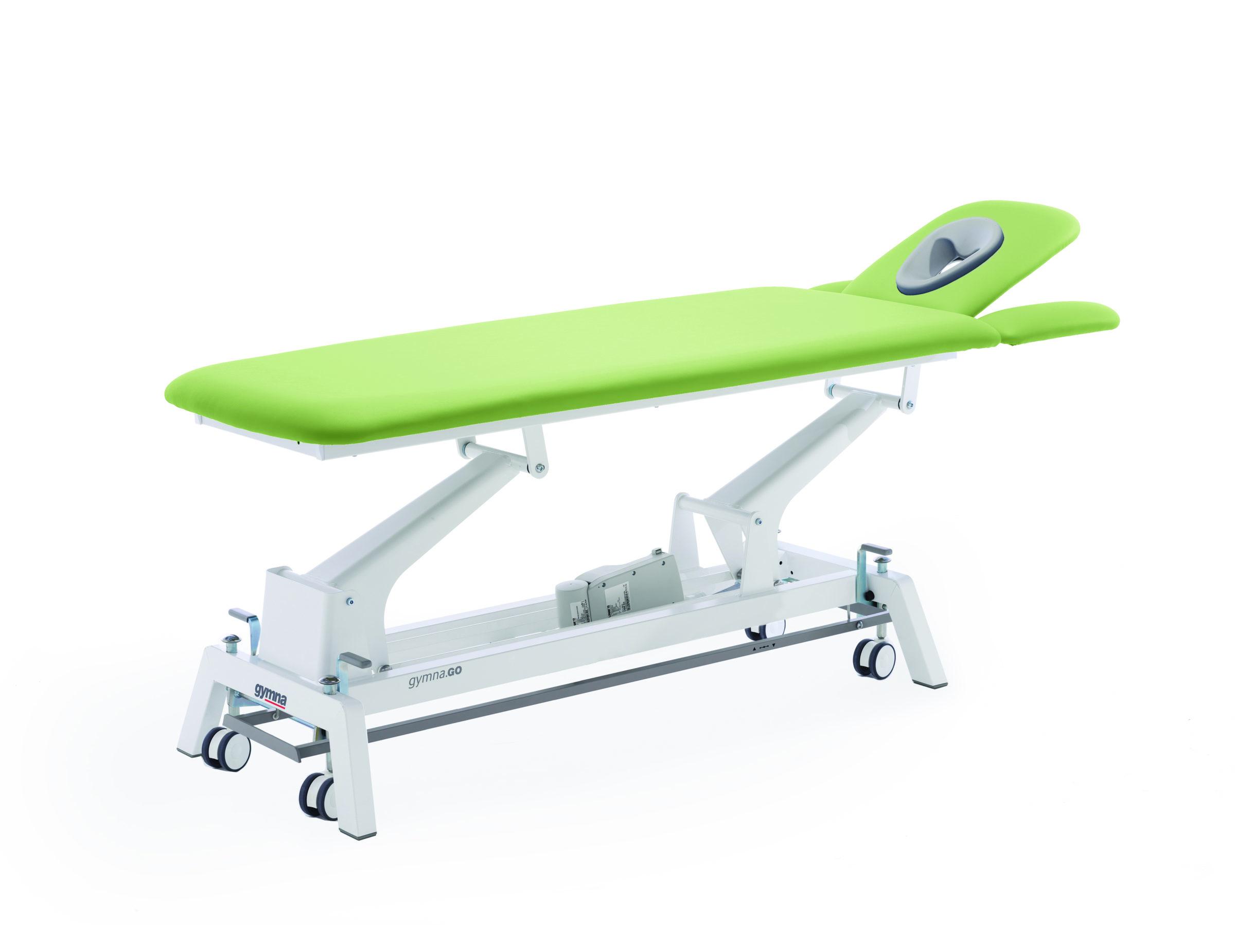 Therapieliege Gymna.GO D4 iControl Pistacio
