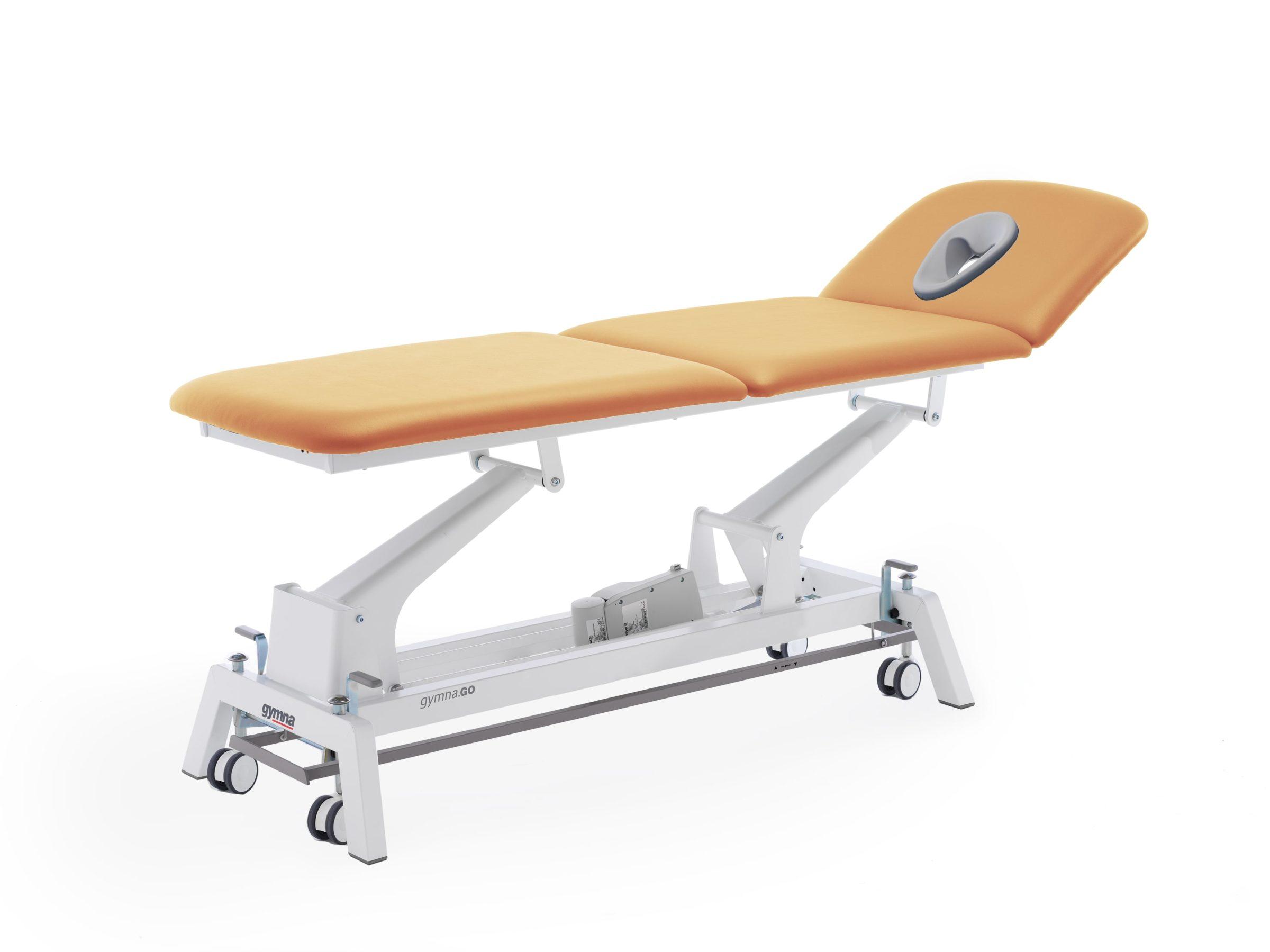 Therapieliege Gymna.GO T3x apricot